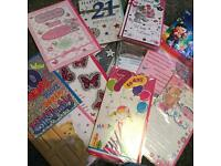 Cards, special occasions, birthdays, anniversary