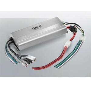 Clarion Marine Audio Systems - XC2510 Micro Size Class D Marine Amplifier 5 /4/ 3 Channel