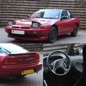 SOLD | 1989 Nissan 200SX 1.8 Turbo Manual - 50,000 Miles - Factory Condition
