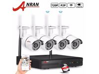 Outdoor Wifi Wireless 4CH 960P NVR Security System Network IR IP Camera Kit 500gb Hard Drive Include