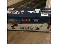 vax cordless brand new hoover