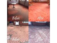 Stayclean carpet and upholstery cleaning and jet washing.