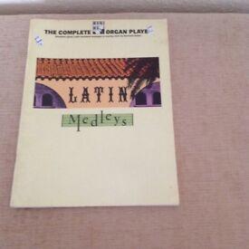 Latin Medleys music book
