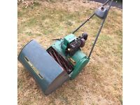 Qualcast Suffolk Punch 43s Electronic Ignition Petrol Propelled Cylinder Mower