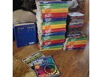 Retro gamer magazines and discs bundle