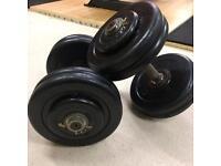 (45kg) Pair of 22.5kg dumbbells
