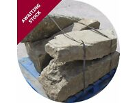 7 Large Yorkshire Stone Garden Rocks for landscaping and rockeries