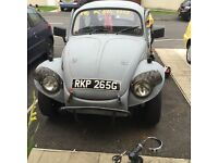 VW beetle baja project with mot WHY