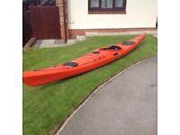 Sea kayak P & H Delphin155