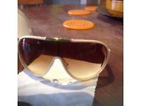 Diesel sunglasses - cream / gold - unisex