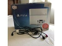 White PS4 Console 500GB