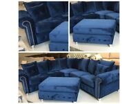 "🎀Elegant Style New🎀""ASHWIN 3+2 Seater Sofa""🎀&🎀""ASHWIN Corner Sofa""🎀Both Available in Stock!🎀"