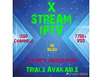 X STREAM IPTV