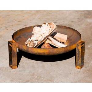 NEW ... W4195 Round Firepit Fire Pit LUO