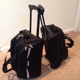 Black in cabin flight bags