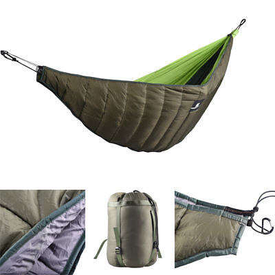 Camp Sleeping Gear Sports & Entertainment Outdoor Funny Gear Garden Hammock With Rope & Hooks One Person Grey Color Hiking Camping Trekking Sleeping Bag Hammock Easy To Lubricate