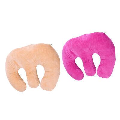 2Pcs Gelkissen Massagekissen Kopfstütze Gesichtsauflage Kissen für