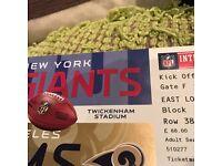 NEW YORK GIANTS VS LA RAMS 23/10/16 Twickenham!!!