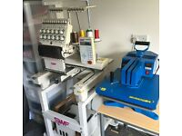 Embroidery Business Equipment for Sale
