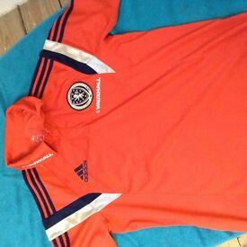 Scotland adidas training shirt size large