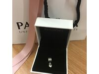 Pandora dangly heart charm
