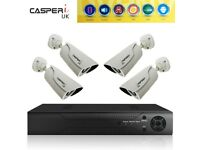 1080P HD Security Camera System 4CH 1080N CCTV DVR KIT 2MP Bullet Video Cameras