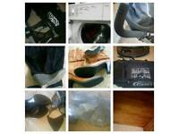 Pram,boots,shoes , child Trainers, net tray pram bed, tomble dryer
