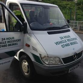 Mercedes sprinter recovery truck LOW Mileage