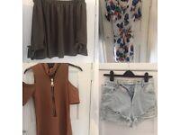 Ladies 8-10 clothes bundle inc shoes