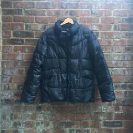 Kangol black puffer jacket