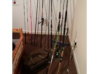 Fishing Rods and Equipment for Sale !!