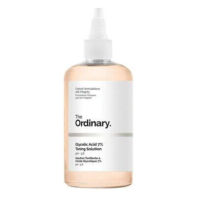 The Ordinary Glycolic Acid 7% Toning Resurfacing Solution 240ml 8.1 fl oz NO -