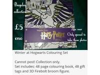 Harry Potter colouring set