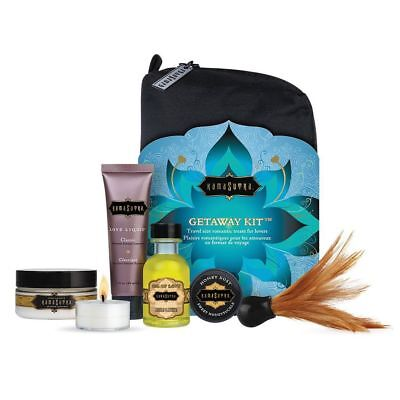 Kama Sutra The Getaway Kit - Couples Foreplay Travel Gift Set