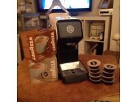 Lavzza coffee pod machine
