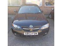 2003 black Nissan Almera 1.5L Petrol
