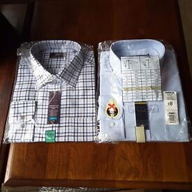 NEW - 2 x Mens Shirts in packaging