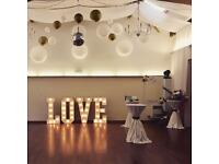 Little Wishes Hire - wedding hire for Northamptonshire - love lights, sweet cart, games and more!
