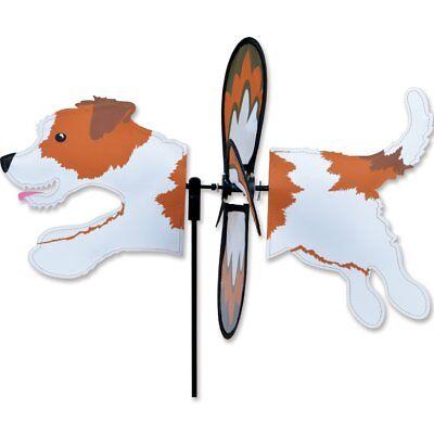 (Jack Russell Terrier Garden Wind Spinners)
