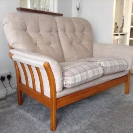 Two seater cottage settee