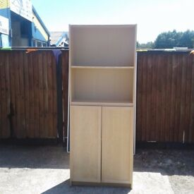 Shelving Unit with cupboard Storage