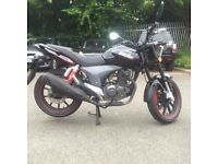 KSR Code X 125cc Motorbike