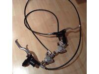 Hope hydraulic mountain bike disc brake set