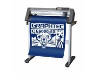 Graphtec cutting plotter with stand, blades & Stalhs clam 38cm x 38cm Heat press