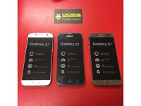 SAMSUNG GALAXY S7 SIMFREE, COMES WITH CHARGER AND THREE MONTHS WARRANTY. WE CAN DELIVER