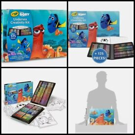 Finding dory 125 piece art set. Brand new sealed