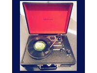 Vintage look geniune record player corsley