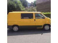 Converted VW Transporter. 12 Months MOT, Solar Panel to charge Leisure Battery, Swivel front seats