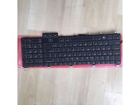 Alienware m17x keyboard Replacement: MODEL NUMBER: NSK-D8G1D