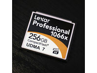 Lexar Professional 256GB 1066X UDMA7 CF Compact Flash Memory Card